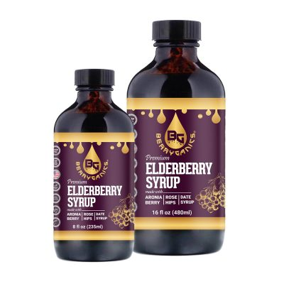 Organic Elderberry Syrup Date