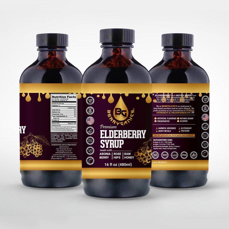 Elderberry Syrup Honey