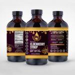 EB Honey label 8 oz bundle sum